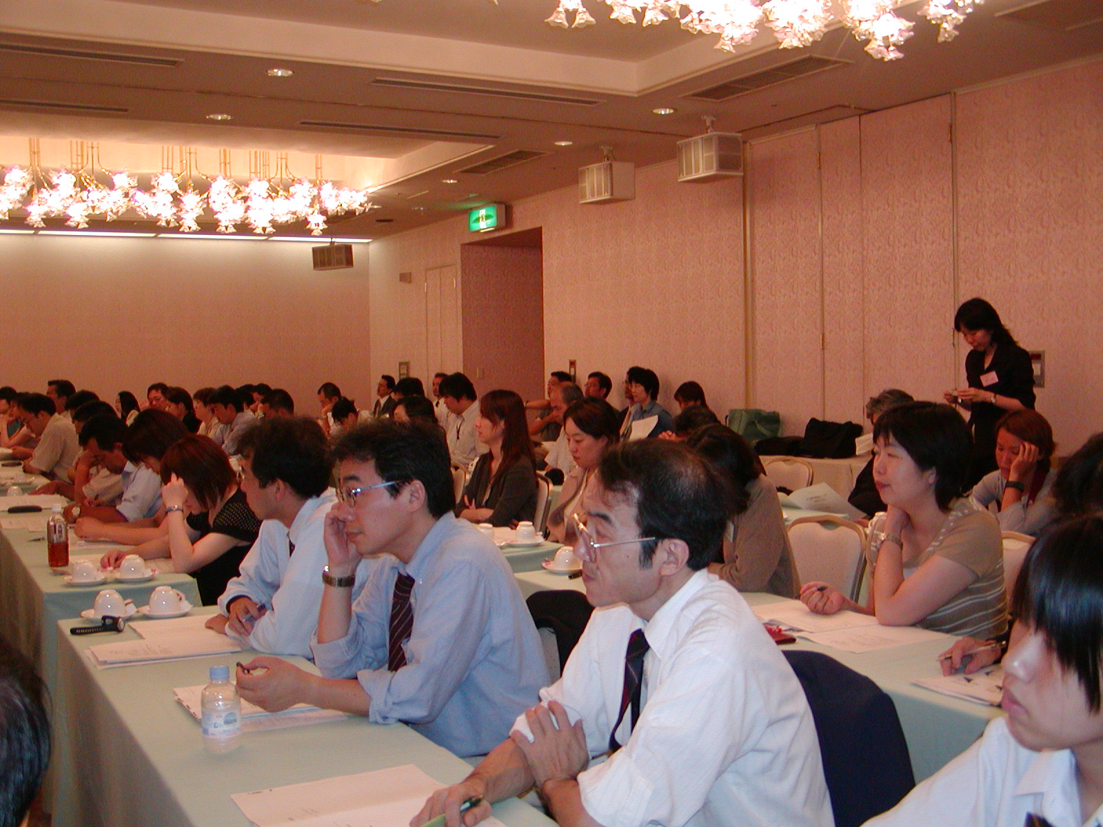 94 people from NGO and trade unions participated in the symposium. (July 26, Ikenohata Bunka Center)